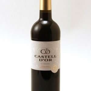 Red gold castle wine
