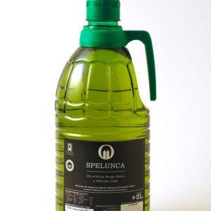 Garrafa 2 litros etiqueta negra aceite de oliva extra virgen 100% arbequina