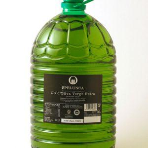 Garrafa 5 litros etiqueta negra aceite de oliva extra virgen 100% arbequina