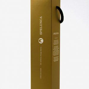 Botella de 0,50 L. Oli Spelunca Premium amb estoig de regal