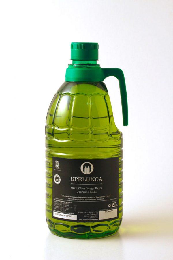 Garrafa 2 litres etiqueta negra oli d'oliva extra verge 100% arbequina