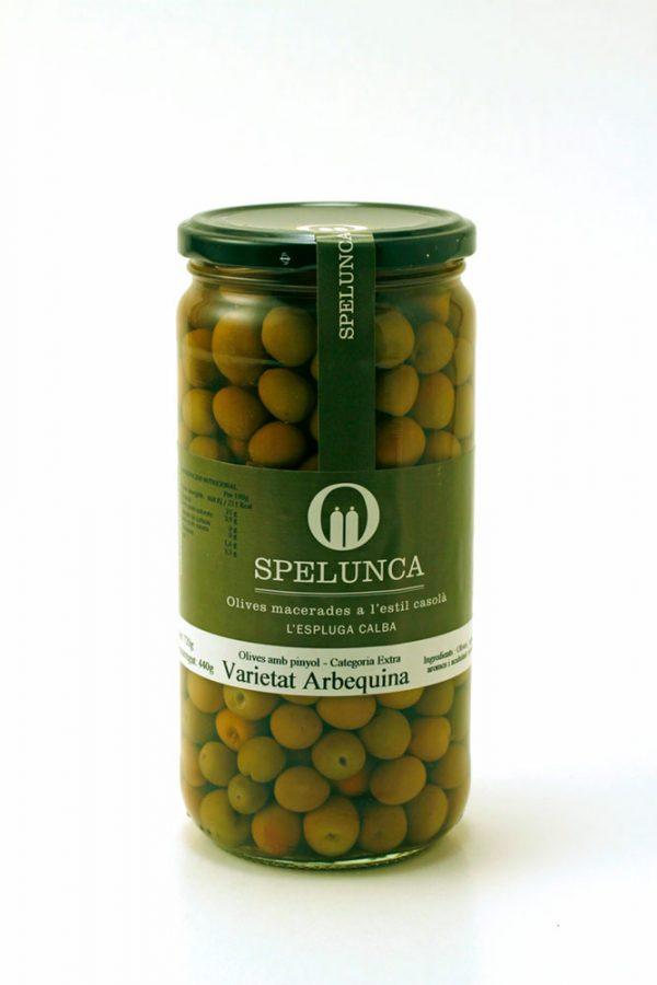 Olives varietat arbequina amb pinyol