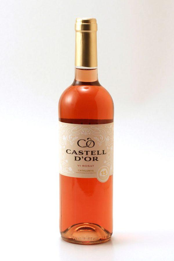 Vi castell d'or rosat